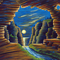Cave With Cliffs by Jennifer McDuffie
