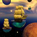 Celestial Armada by Claude McCoy