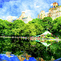 Central Park by Julie Lueders