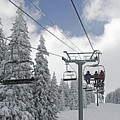 Chairlift At Vail Resort - Colorado by Brendan Reals
