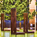 Chairs At The Gate by Ricky Barnard