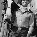 Champion And Gene Autry by Everett