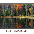 Change Inspirational Poster Art by Christina Rollo