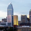 Charlotte Skyline by Tim Mattox