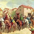 Chaucer's Pilgrims by van der Syde