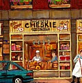 Cheskies Hamishe Bakery by Carole Spandau