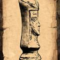 Chess Queen by Tom Mc Nemar