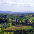 Chianti Region In Italy by Gregory Ochocki and Photo Researchers