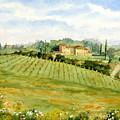 Chianti Villa by Vikki Bouffard