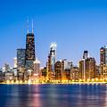 Chicago Skyline At Twilight by Paul Velgos