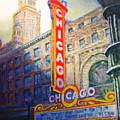 Chicago Theater by Michael Durst