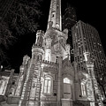 Chicago Water Tower by Adam Romanowicz