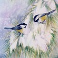 Chickadee Chat by Patricia Pushaw