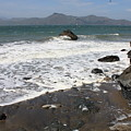 China Beach With Outgoing Wave by Carol Groenen