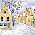 Chipping Campden In Snow by Scott Nelson