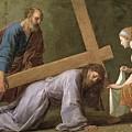 Christ Carrying The Cross by Eustache Le Sueur
