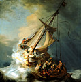 Christ In The Storm by Rembrandt