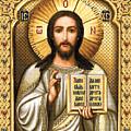 Christ Pantocrator by Stoyanka Ivanova