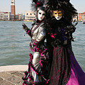 Christine And Gunilla Across St. Mark's  by Donna Corless