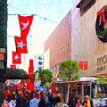 Christmas At Macys In San Francisco . Photoart by Wingsdomain Art and Photography