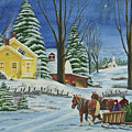 Christmas Eve In The Country by Charlotte Blanchard