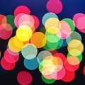 Christmas Lights Abstract by Elena Elisseeva