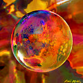 Chromatic Floral Sphere by Robin Moline
