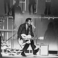 Chuck Berry B. 1926 On Stage, Playing by Everett