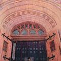 Church Doors by Kenny King