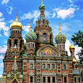Church Of The Spilled Blood by Gary Little