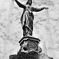 Cincinnati Fountain Tyler Davidson Genius Of Water Statue by Paul Velgos