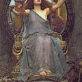 Circe Offering The Cup To Ulysses by John Williams Waterhouse