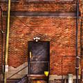 City - Door - The Back Door  by Mike Savad