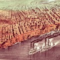 City Of New Orleans by Currier and Ives