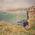 Cliff At Varengeville by Claude Monet