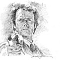 Clint Eastwood As Callahan by David Lloyd Glover