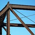 Close Up Bridge by Marsha Heiken