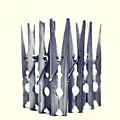 clothespin Print by Priska Wettstein