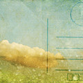 Cloud And Sky On Postcard by Setsiri Silapasuwanchai