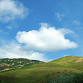 Cloud Over Hills In Spring by Kathy Yates