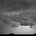 Co Cloud To Cloud Lightning Thunderstorm 27 Bw by James BO  Insogna