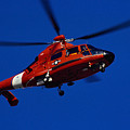 Coast Guard Helicopter by Stocktrek Images
