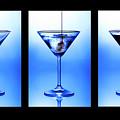 Cocktail Triptych by Jane Rix