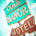 Cole Manor Motel by David Waldo