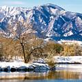 Colorado Flatirons 2 by Marilyn Hunt
