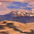 Colorado's Great Sand Dunes Shadow Of The Clouds by James BO  Insogna