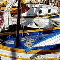 Colorful Boats by Lainie Wrightson