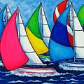 Colourful Regatta by Lisa  Lorenz