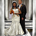 Commissioned Wedding Portrait  by Reggie Duffie