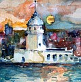 Constantinople Turkey by Mindy Newman